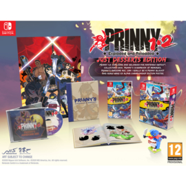 Switch Prinny 1.2 Exploded and Reloaded Just Desserts Edition [Pre-Order]