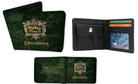 The Lord Of The Rings Vinyl Portemonnee Middle Earth - ABYStyle [Nieuw]