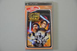 PSP Star Wars The Clone Wars Republic Heroes