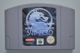 N64 Mortal Kombat Mythologies Sub-Zero