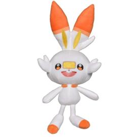 Pokemon Pluche Scorbunny - Wicked Cool Toys [Nieuw]