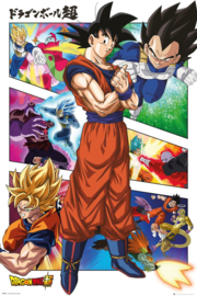Dragonball Poster (61x91cm) Dragonball Super Panels - ABYStyle [Nieuw]