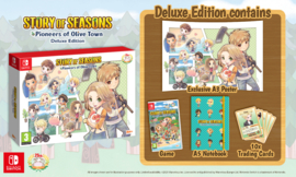 Switch Story of Seasons Pioneers of Olive Town Deluxe Edition [Pre-Order]