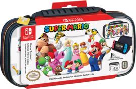 Nintendo Switch Deluxe Travel Case Mario & Friends (White) - Bigben [Nieuw]
