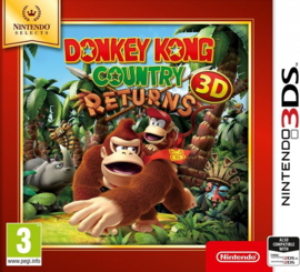 3DS Donkey Kong Country Returns 3D (Nintendo Selects) [Nieuw]