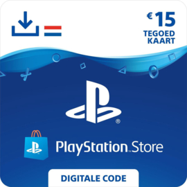 PlayStation Network - 15 Euro (NL)