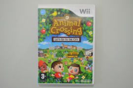Wii Animal Crossing Let's Go To The City