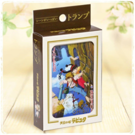 Laputa Castle In The Sky Movie Playing Cards - Studio Ghibli