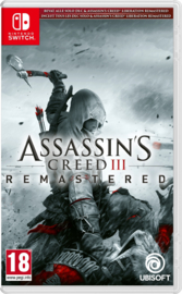 Switch Assassins Creed III Remastered [Nieuw]