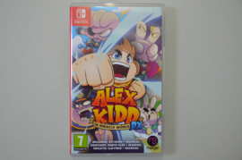 Switch Alex Kidd in Miracle World DX
