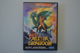 Mega Drive Alisia Dragoon [Compleet]