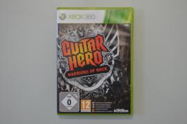 Xbox 360 Guitar Hero Warriors of Rock