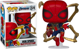Marvel Avengers Endgame Funko Pop - Iron Spider Man With and Nano Gauntlet #574 [Nieuw]