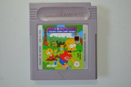 Gameboy Bart Simpsons Escape from Camp Deadly