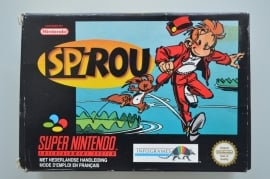 SNES Spirou (Robbedoes) [Compleet]