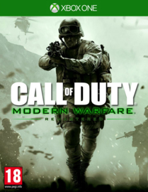 Xbox One Call of Duty Modern Warfare Remastered [Nieuw]