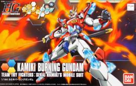Gundam Model Kit HG 1/144 Kamiki Burning Gundam Team Try Fighters : Sekai Kamiki's Mobile Suit - Bandai [Nieuw]