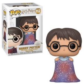 Harry Potter Funko Pop - Harry with Invisibility Cloak #112 [Nieuw]