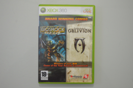 XBox 360 Bioshock + Oblivion Double Pack