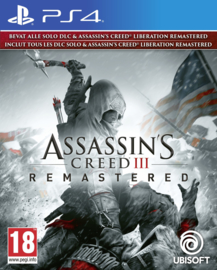 PS4 Assassins Creed 3 Remastered + Assassins Creed Liberation [Nieuw]
