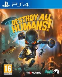 Ps4 Destroy All Humans [Nieuw]