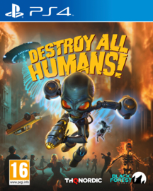Ps4 Destroy All Humans [Pre-Order]