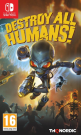 Switch Destroy All Humans [Pre-Order]