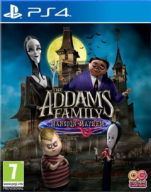 Ps4 The Addams Family Mansion Mayhem [Pre-Order]
