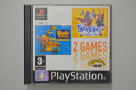 Ps1 Bob the Builder & Tweenies Game Time (Playstation 1 Double Pack)