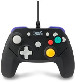 Gamecube Controller Zwart - Under Control [Nieuw]