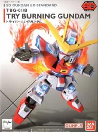 Gundam Model Kit SD TRY Burning Gundam TBG-011B - Bandai [Nieuw]