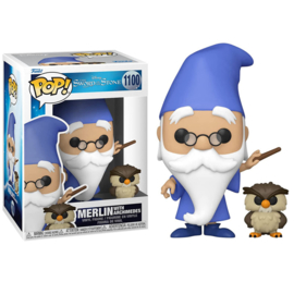 Disney The Sword In The Stone Funko Pop Merlin With Archimedes #1100 [Pre-Order]
