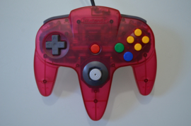 N64 Controller Clear Red