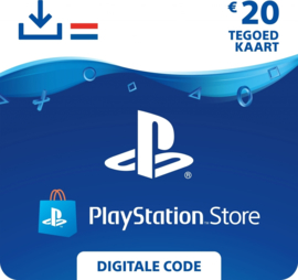 PlayStation Network - 20 Euro (NL)