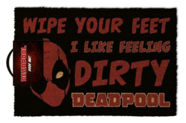 Marvel Deurmat I like Feeling Dirty Deadpool - Pyramid International [Nieuw]