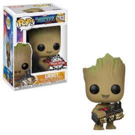 Guardians of the Galaxy Funko Pop - Groot With Bomb Special Edition #263 [Nieuw]