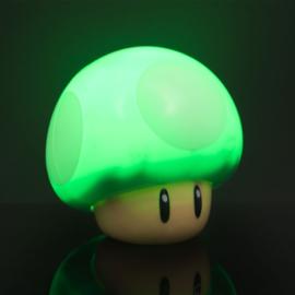 Nintendo Mushroom 1 Up Icon Light Met Geluid - Paladone [Nieuw]