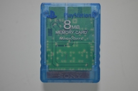 Playstation 2 Memory Card Blauw (8MB) - Sony