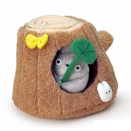 My Neighbor Totoro Pluche Totoro in Tree Trunk - Studio Ghibli [Nieuw]