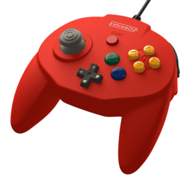 N64 Controller Tribute Classic (Red) - Retro-Bit [Nieuw]