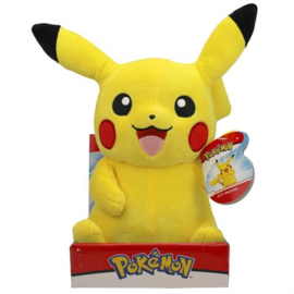 Pokemon Pluche Pikachu Waving - Wicked Cool Toys [Nieuw]
