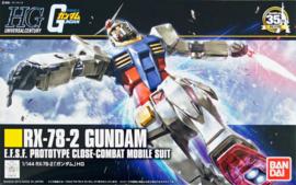 Gundam Model Kit HG 1/144 RX-78-2 Gundam E.F.S.F. Prototype Close-Combat Mobile Suit - Bandai [Nieuw]
