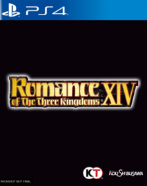 Ps4 Romance of the Three Kingdoms XIV [Pre-Order]