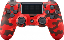 Playstation 4 Controller Wireless Dualshock V2 (Red Camouflage) - Sony [Nieuw]