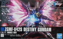 Gundam Model Kit HG 1/144 ZGMF-X42S Destiny Gundam Z.A.F.T. Mobile Suit - Bandai [Nieuw]