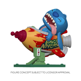 Disney Lilo & Stitch Funko Pop Rides Super Deluxe - Stitch In Rocket [Pre-Order]