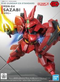 Gundam Model Kit SD Gundam EX-Standard Sazabi - Bandai [Nieuw]