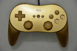 Wii Classic Pro Controller Goud