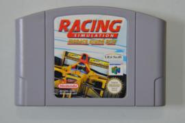 N64 Racing Simulation Monaco Grand Prix