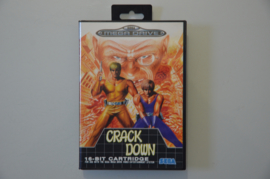 Mega Drive Crack Down [Compleet]